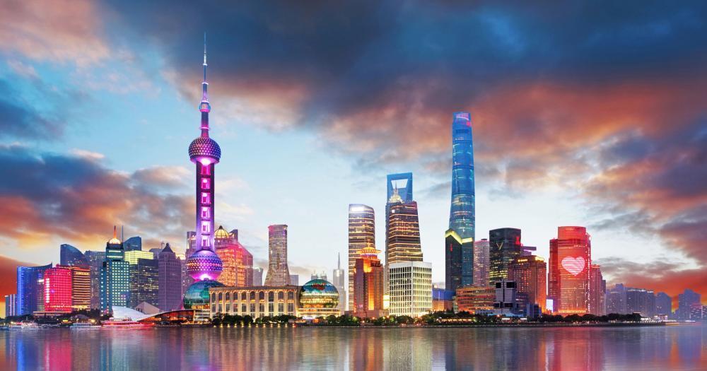 Shanghai - Blick auf die Stadt