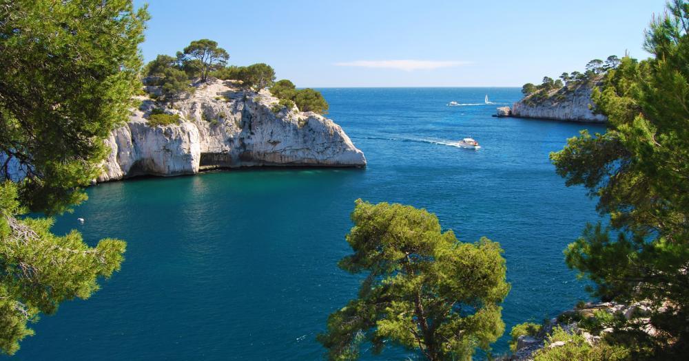 Marseille - Blick auf das Meer