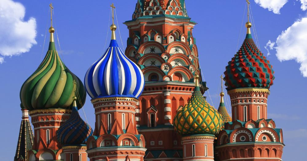 Moskau - St. Basil's Kathedrale