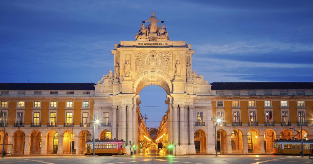 Lissabon - Schloss von Lissabon