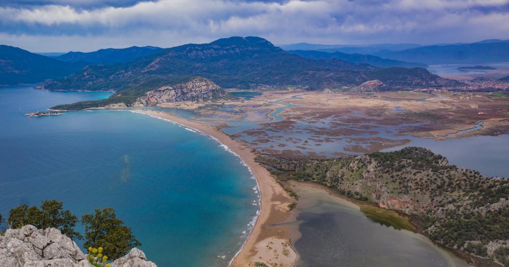 Dalyan - Blick auf das Meer