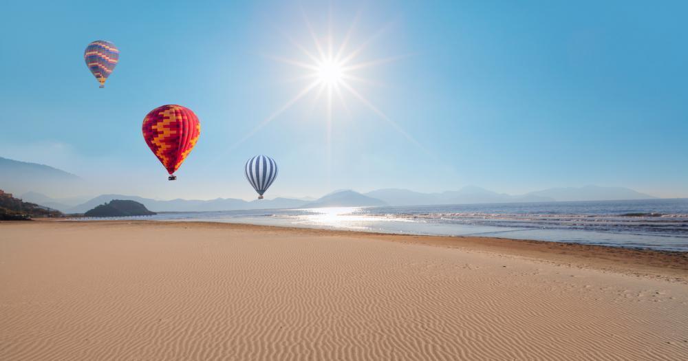 Dalyan - Blick auf den Strand