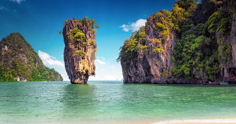 Ko Phuket - Blick auf die James-Bond-Insel in der Nähe von Phuket