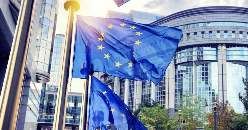 Brüssel - Blick auf ein EU-Parlamentsgebäude
