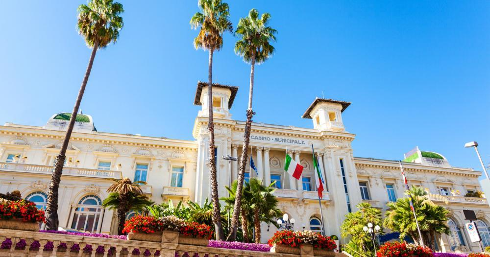 Sanremo - Blick auf das Spielcasino