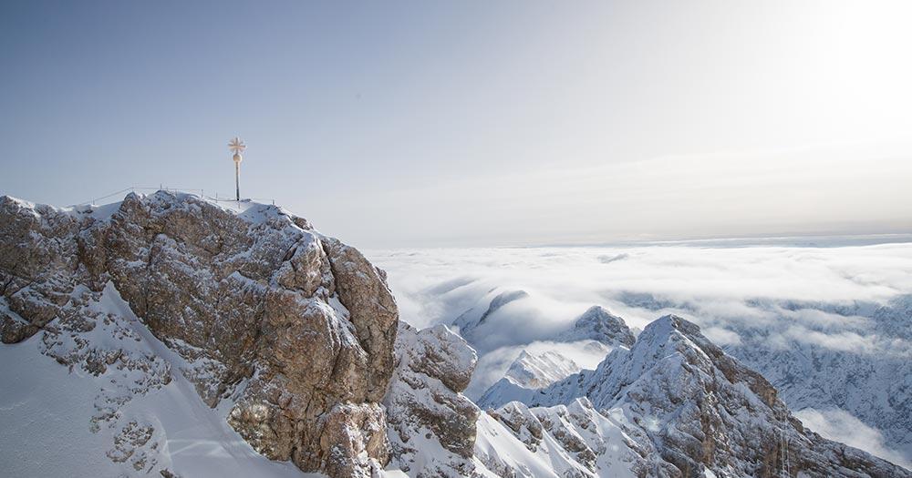 Garmisch-Patenkirchen - Zugspitze im Winterflair