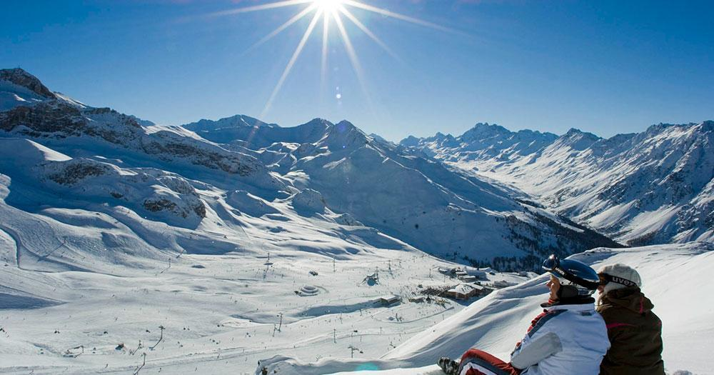 Ischgl - Sonne in der Winterlandschaft