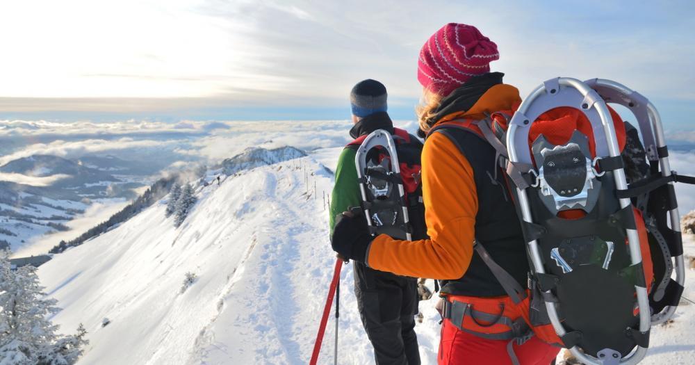 Oberstaufen - Schneeschuhwanderung