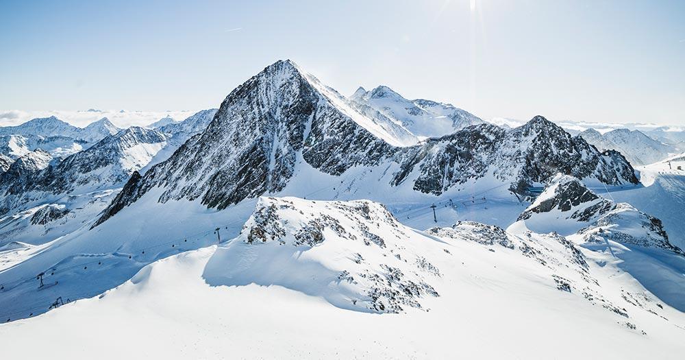 Stubaier Gletscher - Winterpanorama