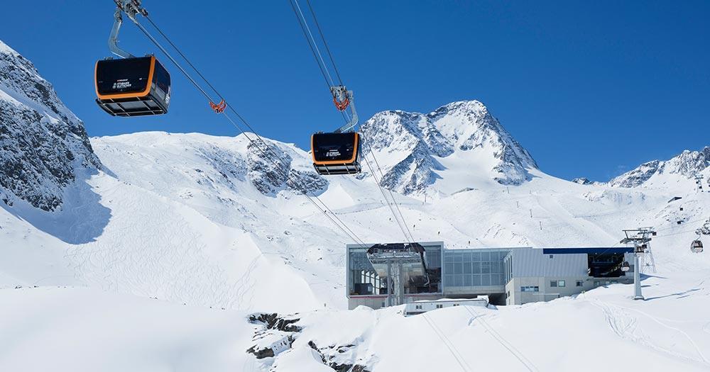 Stubaier Gletscher - Modernste Liftanlagen