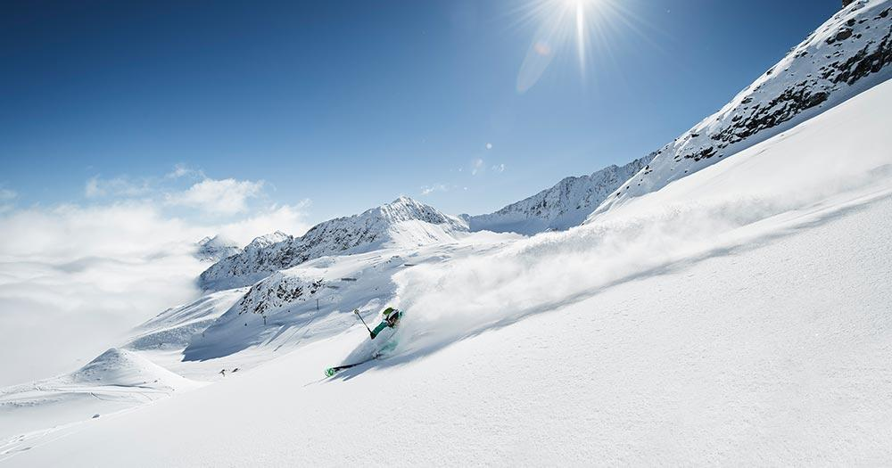 Stubaier Gletscher - Herrliche Pisten und Schneesicher