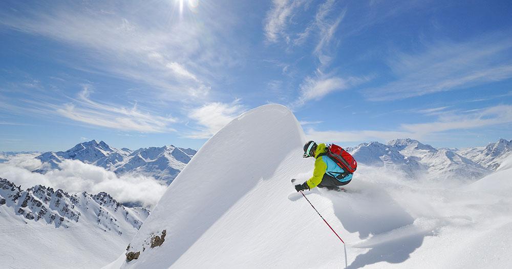 Ski Arlberg - Perfekter Tiefschnee soweit das Auge reicht