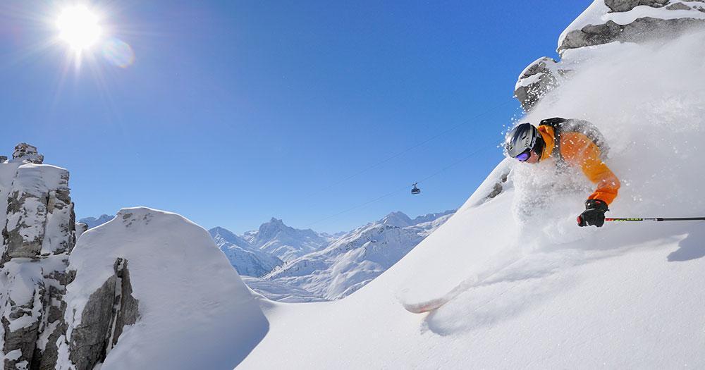 Ski Arlberg - Tiefschnee Erlebnis zwischen den Gipfeln