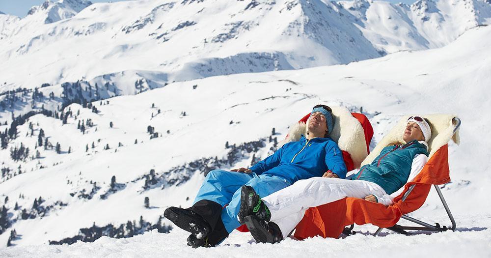 Ski Arlberg - Sonne tanken im Winter