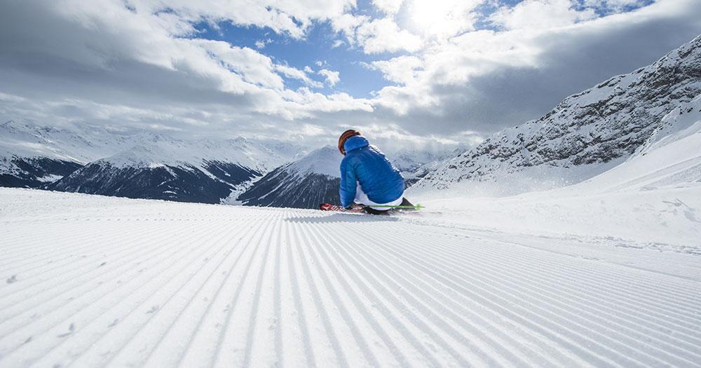 Davos - Perfekt gepflegte Pisten