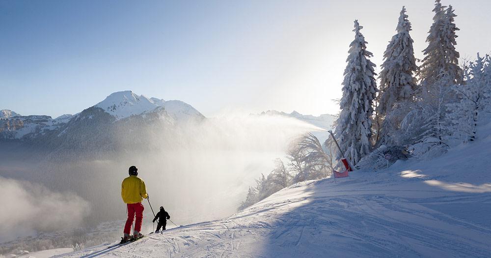 Portes du Soleil - Perfektes Skiwetter
