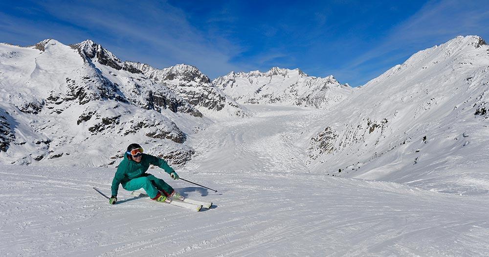Aletsch - Arena - Traumhafte Skibedingungen