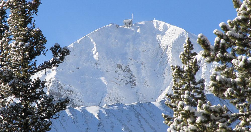 Big Sky Resort - Winterpanorama in Montana