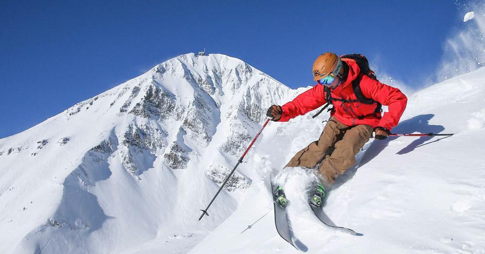 Big Sky Resort - Schneespaß mit toller Winterlandschaft