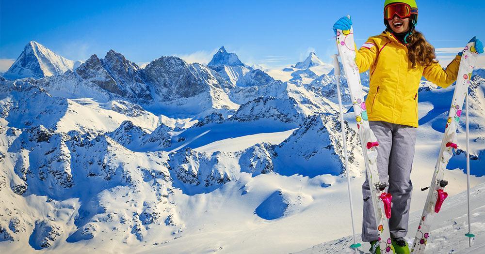Powder Mountain - Tolles Winterpanorama