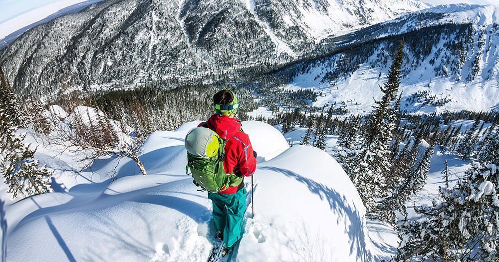 Powder Mountain - verschneite Wälder