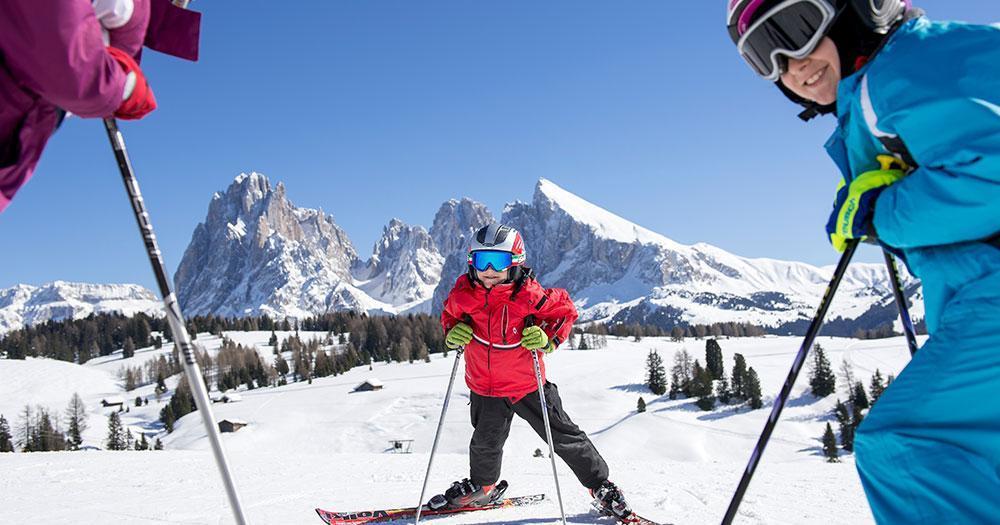 Val Gardena - Familien-Winterspaß