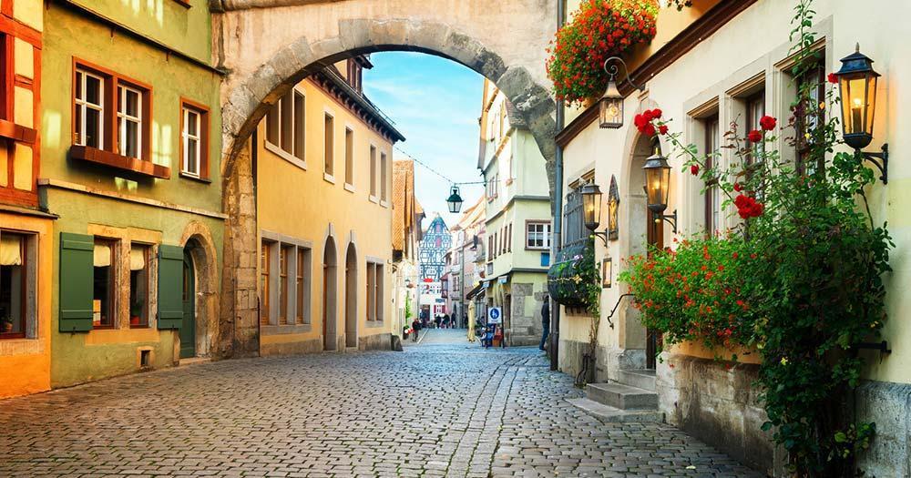 Rothenburg ob der Tauber - Roderbogen