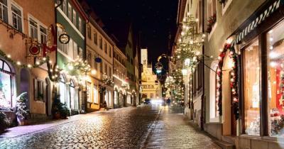 Reiterlesmarkt - Weihnachtliche Altstadt in Rothenburg ob der Tauber