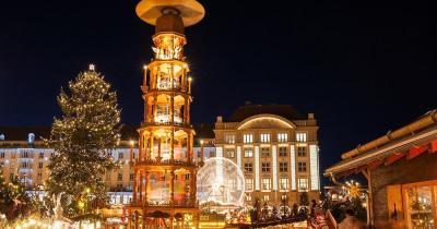 Weihnachtsmarkt Dresden - Abendliche Weihnachtsstimmung