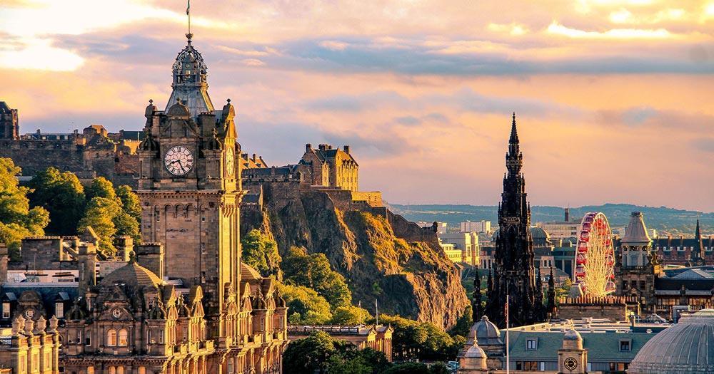Edinburgh - Skyline von Edinburgh