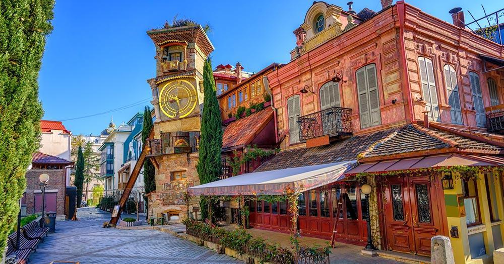 Tiflis - Altstadt von Tiflis
