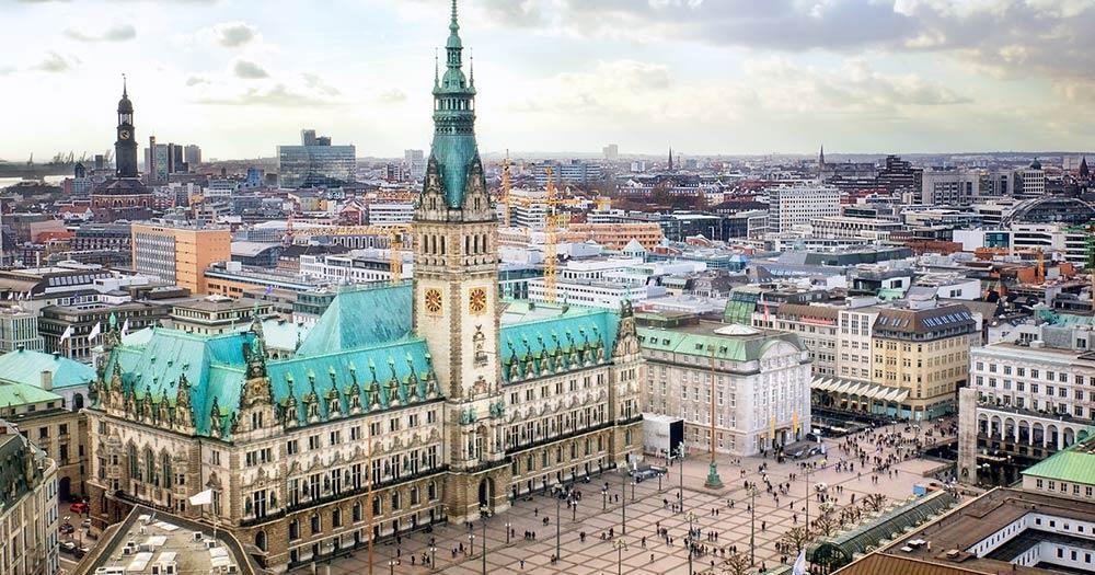 Hamburg - Das Rathaus von Hamburg