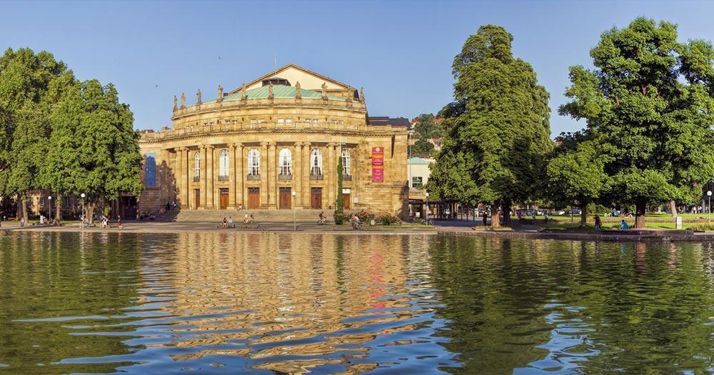 Stuttgart - Oper von Stuttgart