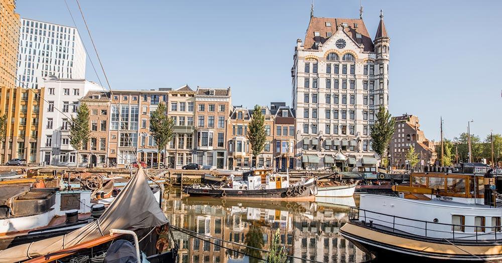 Rotterdam - Der alte Hafen