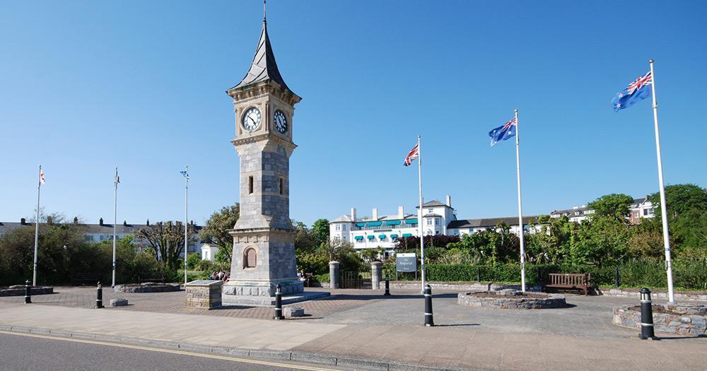 Devon - Exmouth Seafront