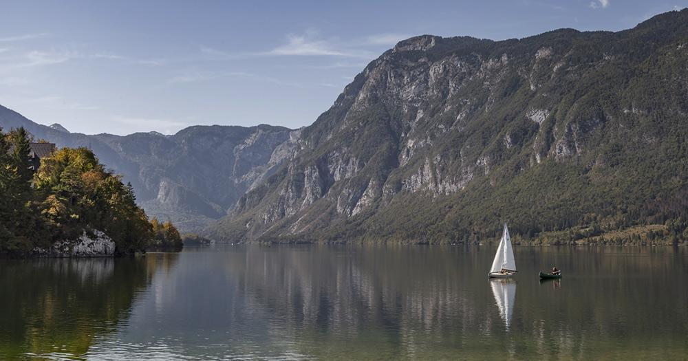 Julische Alpen - der Bohinjsee