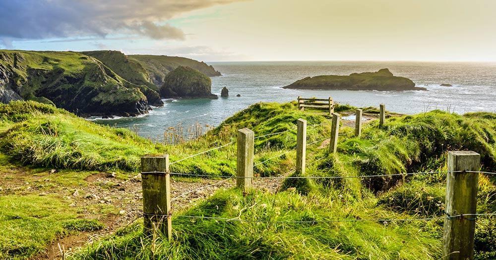 Cornwall - Blick auf die Englische Südküste