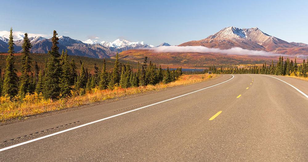 Alaska - Ewige Highways in die Wildniss
