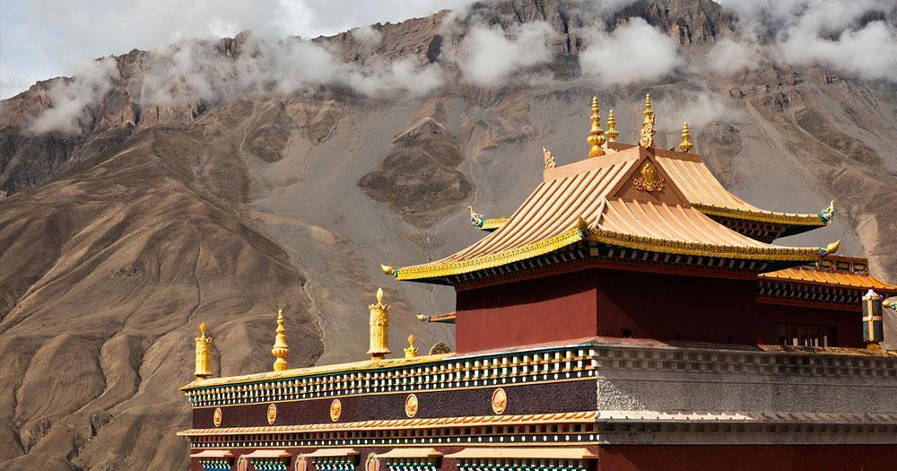 Lahaul und Spiti - Buddhistische Tempel in Kaza