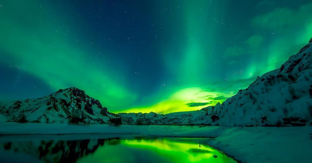 Island - Nächtliche Nordlichter