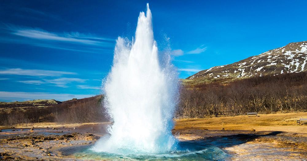 Island - Der Strokkur Geysir