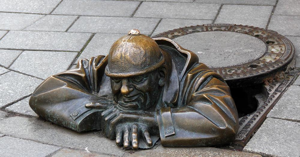 Bratislava - Cumil in Bratislava