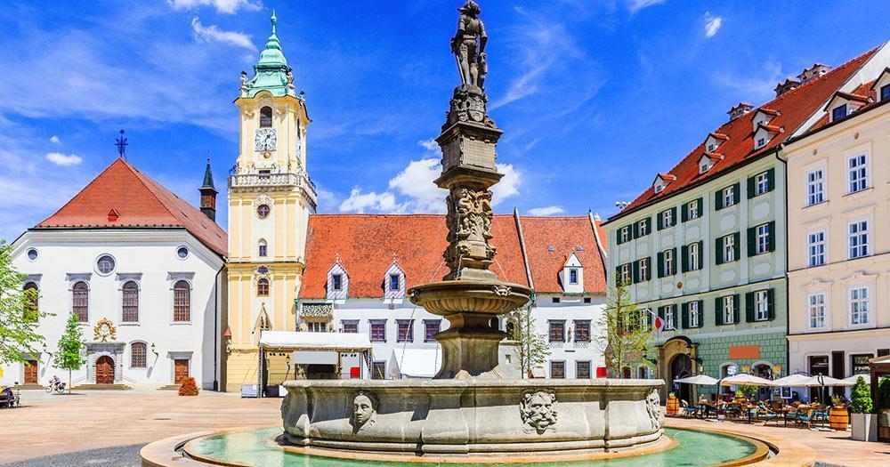 Bratislava - Der Maximilian Brunnen