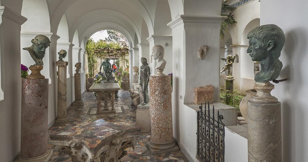 Capri - In der Villa San Michele