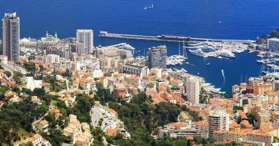 Côte d'Azur - Blick auf Monte Carlo
