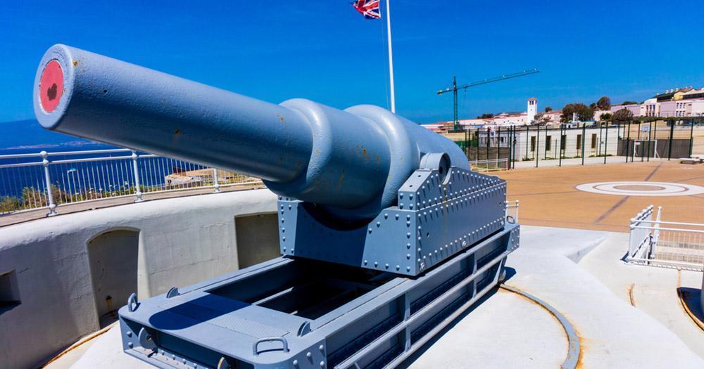 Gibraltar - Kanonen am Europapoint