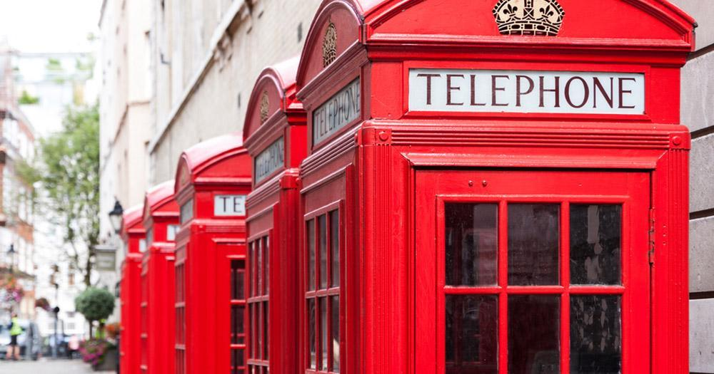 Gibraltar - Englische Telefonhäuschen