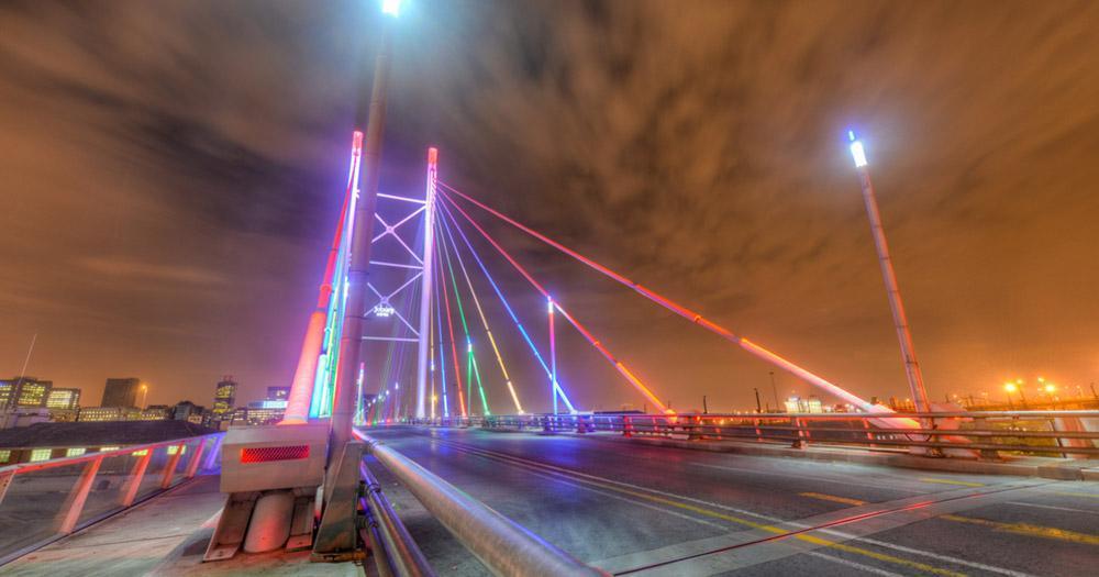 Johannesburg - Nelson Mandela Brücke