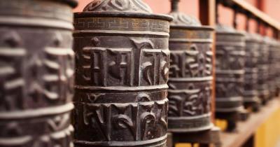 Kathmandu - Gebetsmühlen