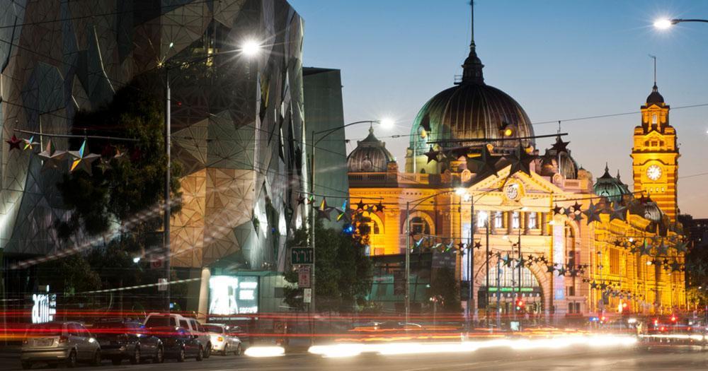 Melbourne - Flinders station